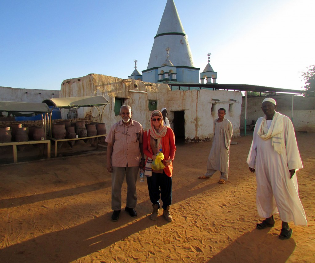 Searching for Malcolm X in Sudan (Photo: Emily O'Dell)