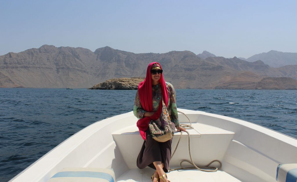 Telegraph Island in Oman (Photo: Emily O'Dell)