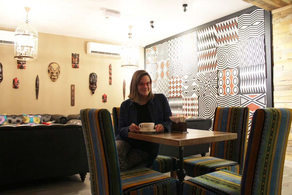 Africa Coffee Shop in Muscat