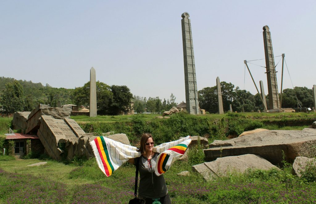 Stelae at Axum (Photo: Emily O'Dell)