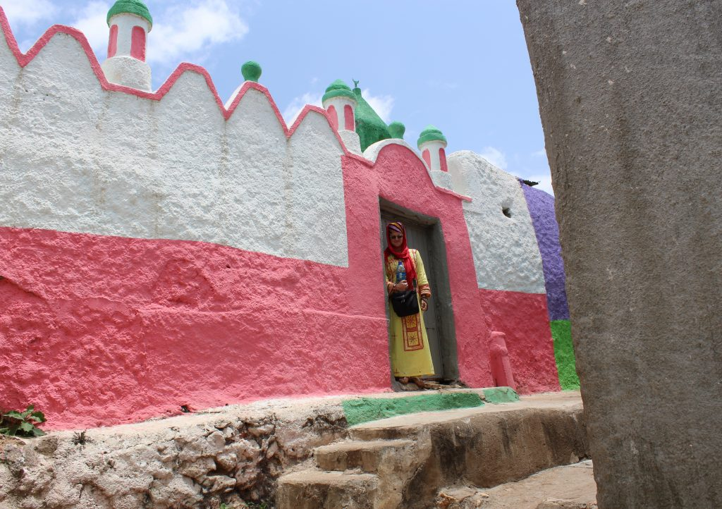 Mosque in Harar (Photo: Emily O'Dell)